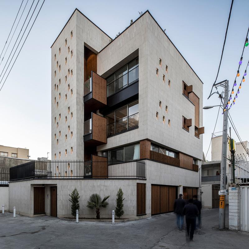 معماری آپارتمان مسکونی شماره 3