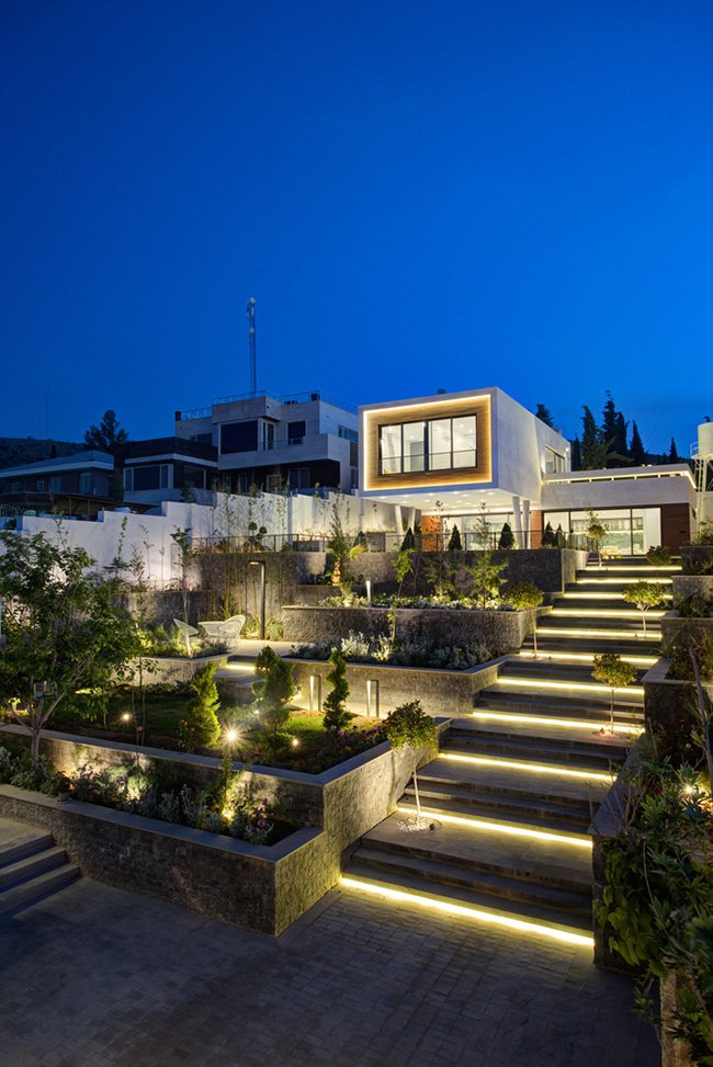 طراحی معماری ویلای ایرانی