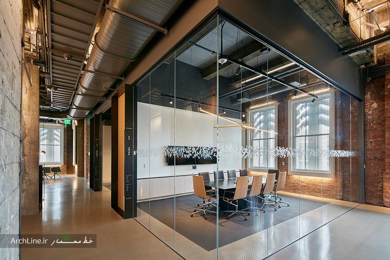 طراحی داخلی واحد اداری مدرن