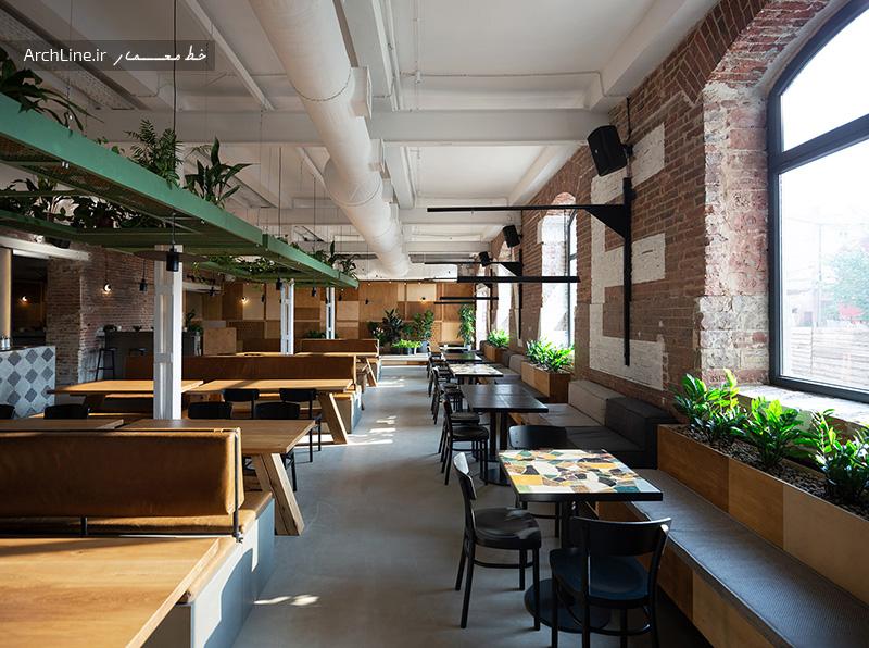 طراحی دکور رستوران