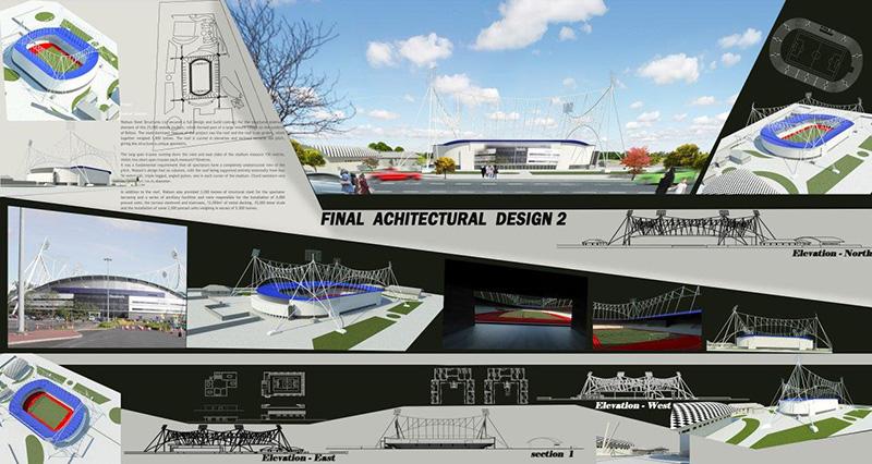 دانلود پلان استادیوم