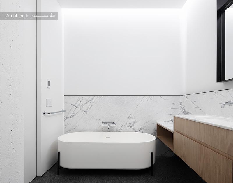 نمای داخل آپارتمان ساده