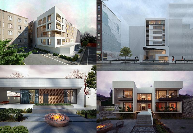 مراحل اجرای نمای ساختمان