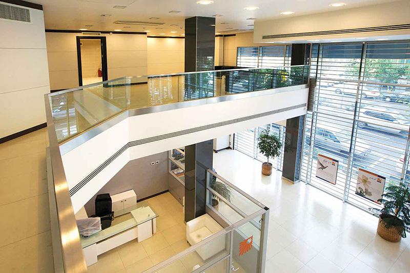 طراحی دکوراسیون داخلی بانک