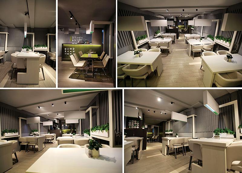 طراحی دکوراسیون رستوران سان لیو
