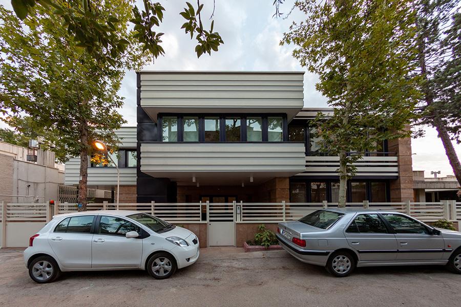 معماری و طراحی ویلای شیرازیان
