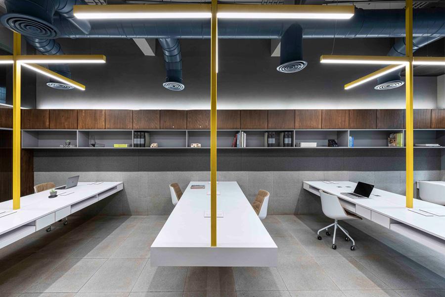 طراحی دکور داخلی اداری مدرن