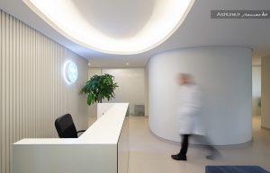 طراحی دکور کلینیک پزشکی