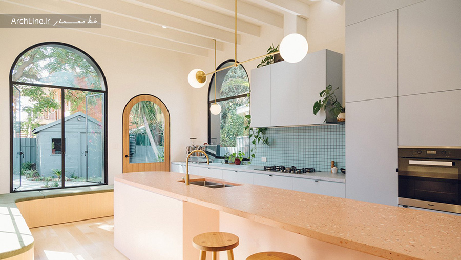 کابینت رنگی در دکوراسیون آشپزخانه