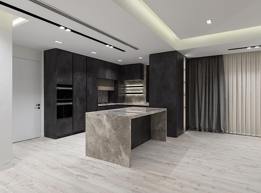 طراحی داخلی آپارتمان شماره 13