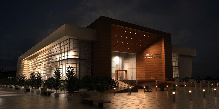 طراحی مرکز همایش های بین المللی تبریز