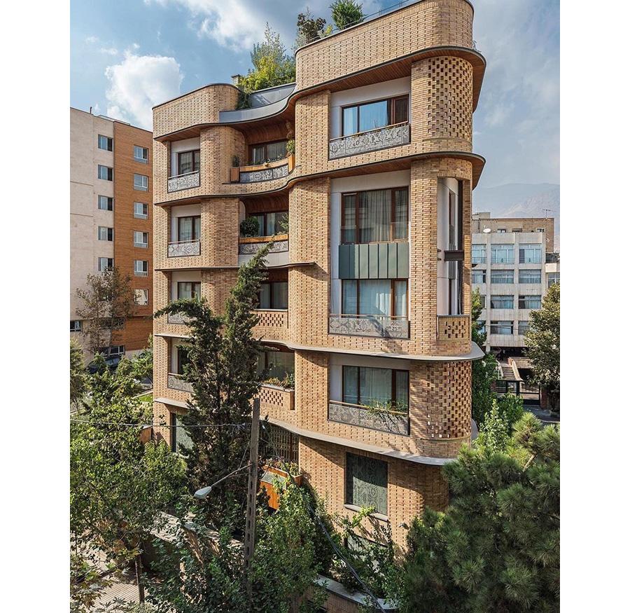 معماری ساختمان مسکونی پارک