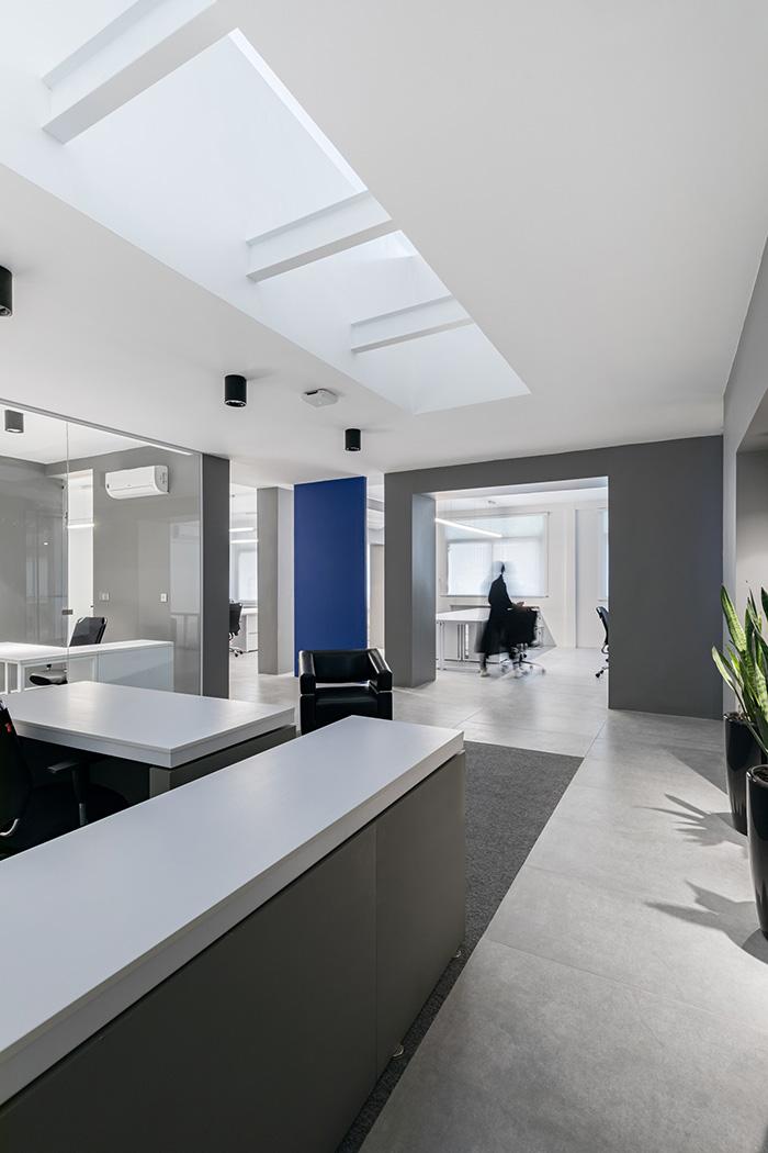 طراحی و دکوراسیون دفتر آدمیرال