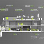 طراحی و معماری ویلای مشرف