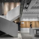طراحی نمای داخل دفتر کار مدرن