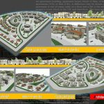 طرح پلان مجتمع مسکونی