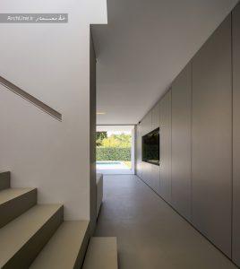 معماری داخلی ویلا مدرن