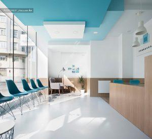 دکوراسیون فضای داخلی مطب دندانپزشکی