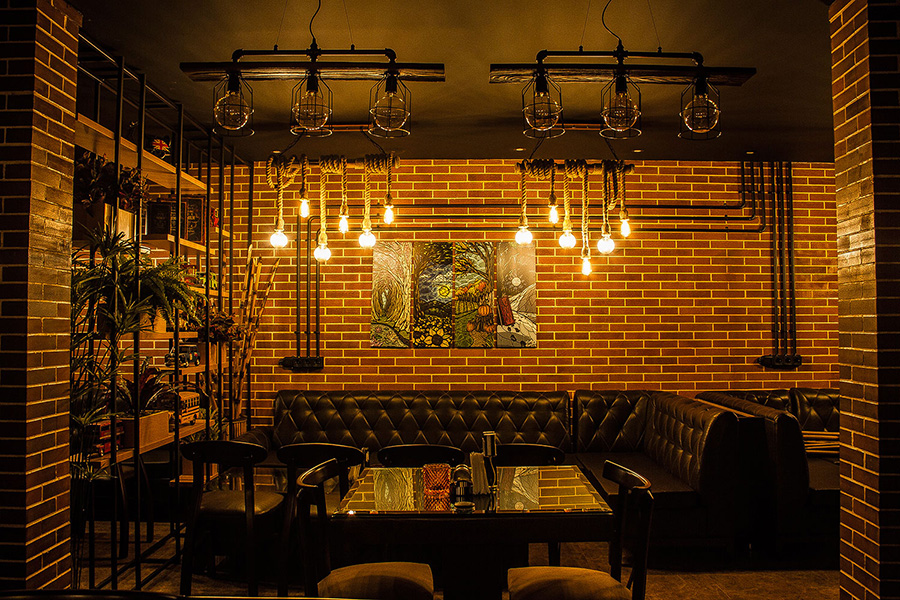 دکوراسیون داخلی کافه رستوران