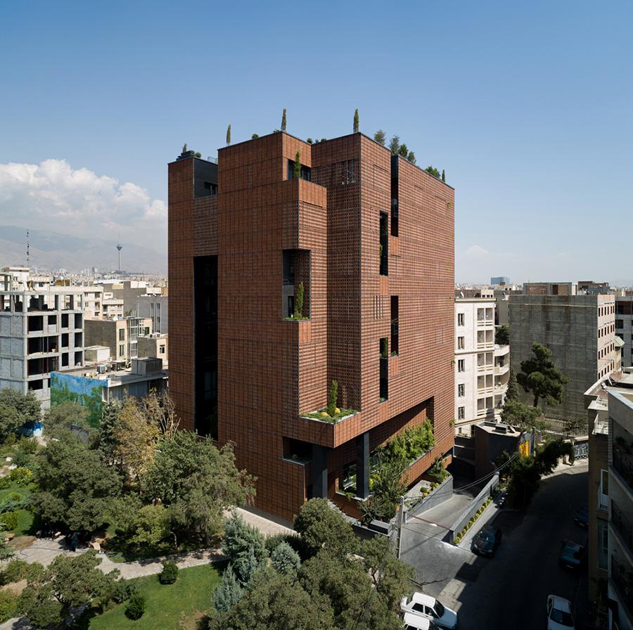 معماری ساختمان اداری شریف