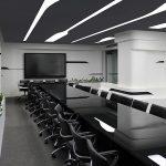 طراحی داخلی اتاق کنفرانس