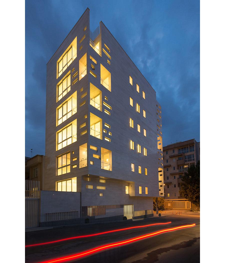 معماری مجتمع مسکونی آزاد