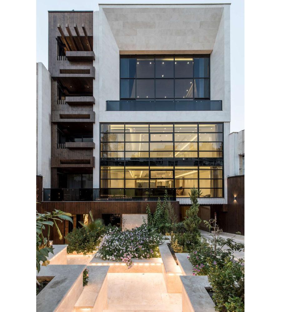 معماری و طراحی داخلی مجتمع مسکونی