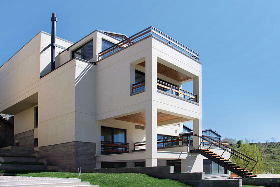 معماری دو ویلای لواسان