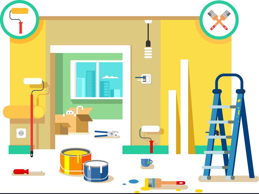 بازسازی و نوسازی منزل