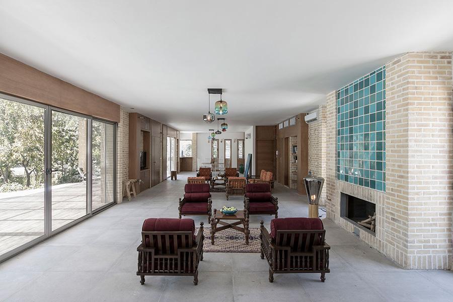 معماری ویلای جلال آباد