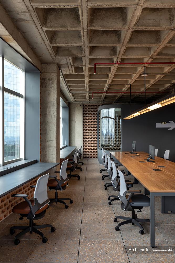 دکوراسیون دفتر کار مدرن