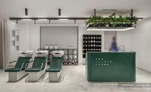 دکوراسیون آرایشگاه زنانه مدرن