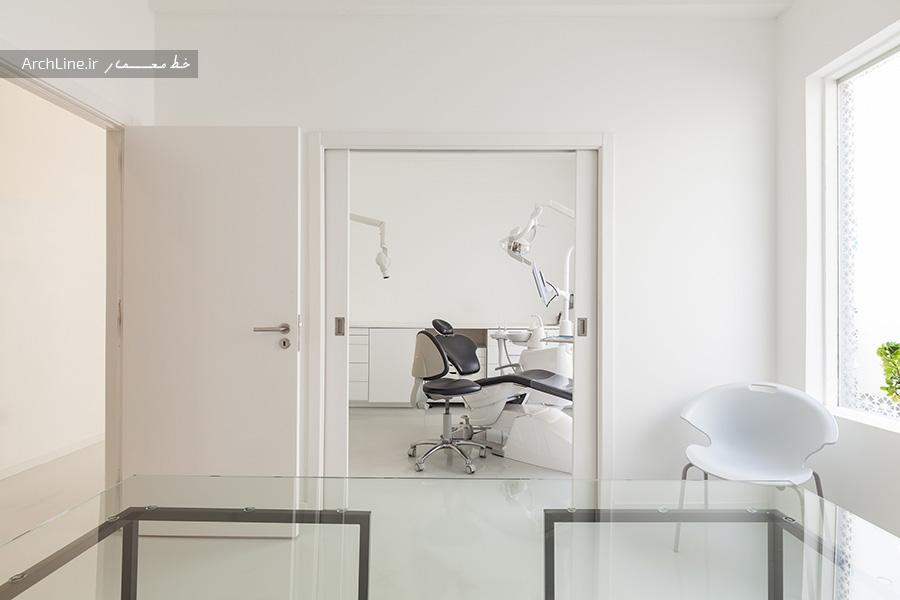 طرح داخلی کلینیک دندانپزشکی