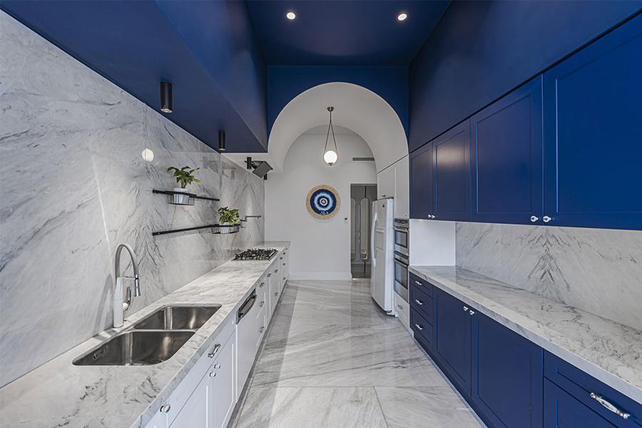 طراحی داخلی آپارتمان کامرانیه