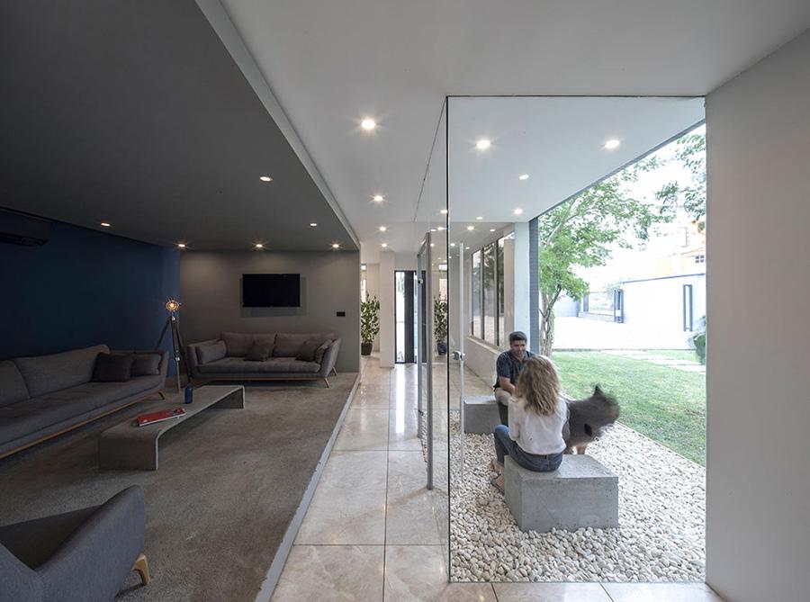 طراحی داخلی ساختمان اداری میان