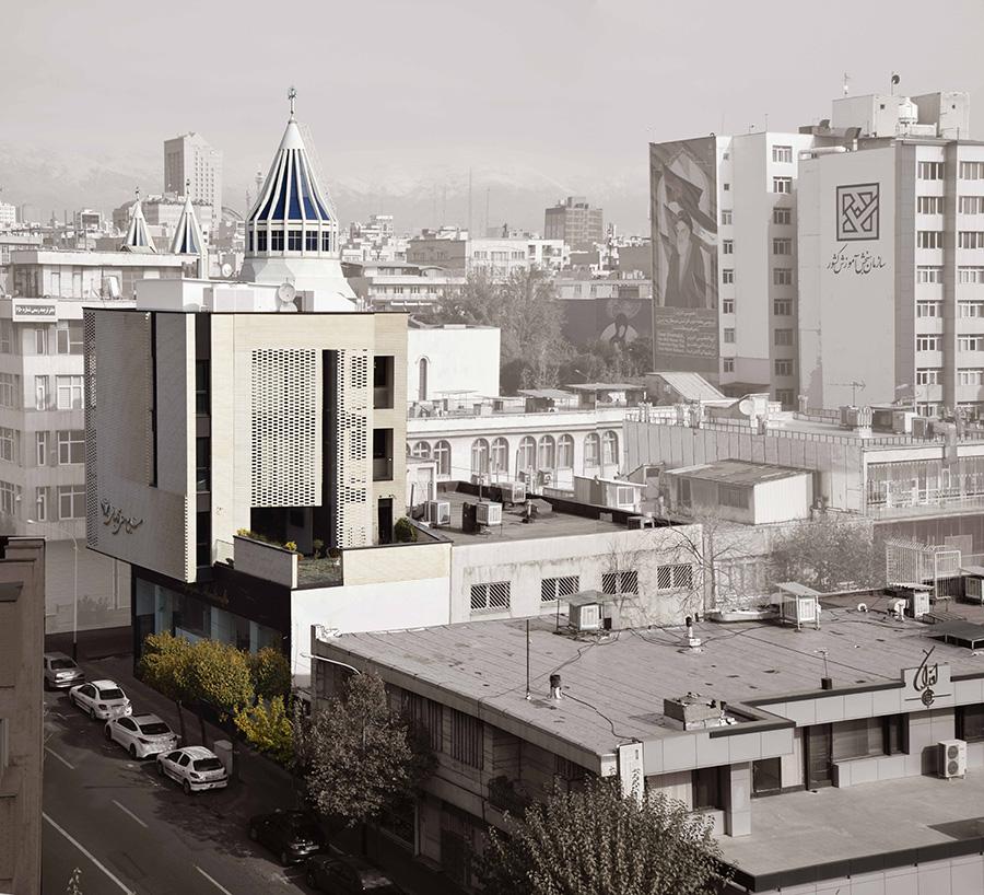 طراحی ساختمان مرکزی صنایع دستی