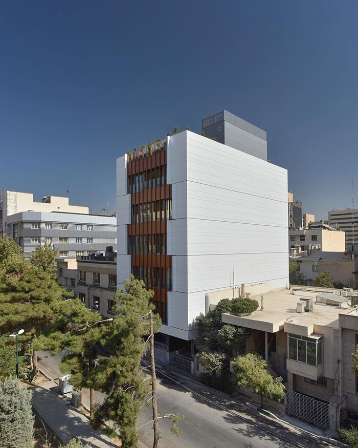 معماری آپارتمان مسکونی شماره 30