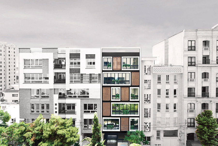 معماری آپارتمان شماره 135