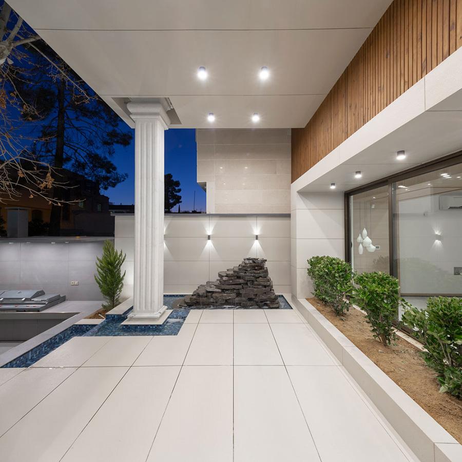 معماری ویلا دنا