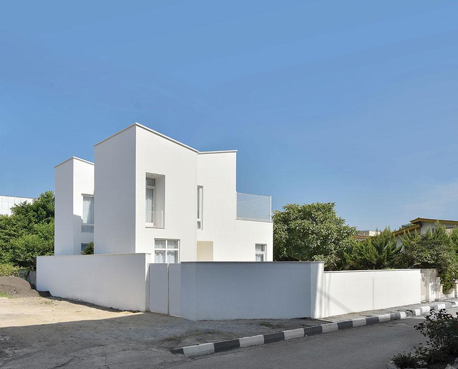 معماری خانه پروا