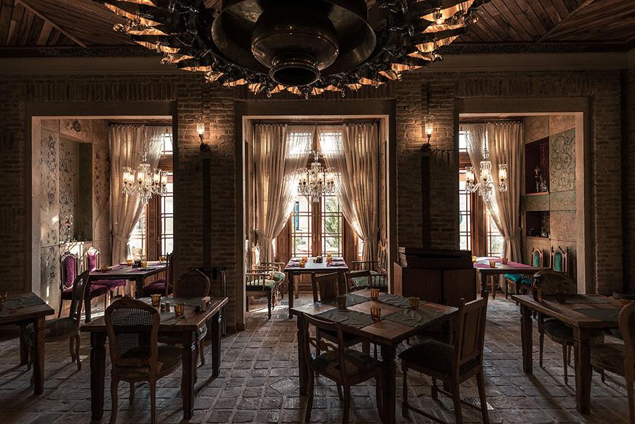 طراحی داخلی رستوران حستوران