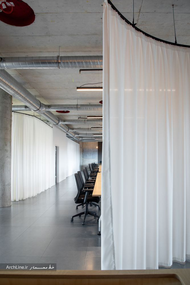 طراحی داخلی دفترکار مدرن