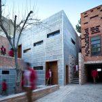 معماری خانه قانعی