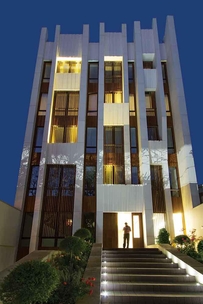معماری ساختمان مسکونی الهیه