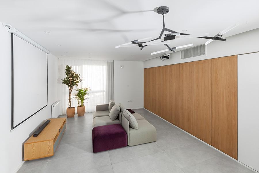 طراحی داخلی خانه گالری-آینه