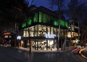 طراحی داخلی رستوران ریواس