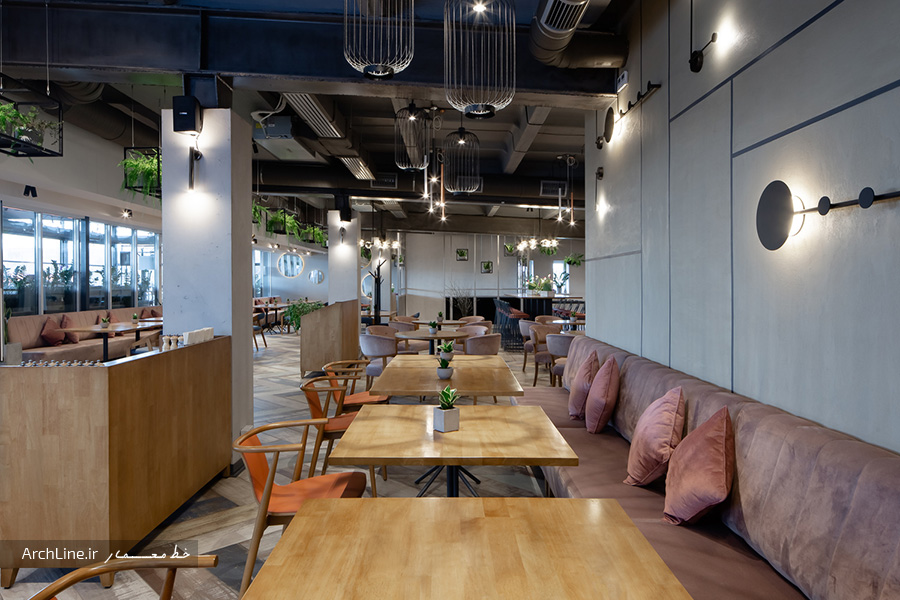 دیزاین رستوران مدرن