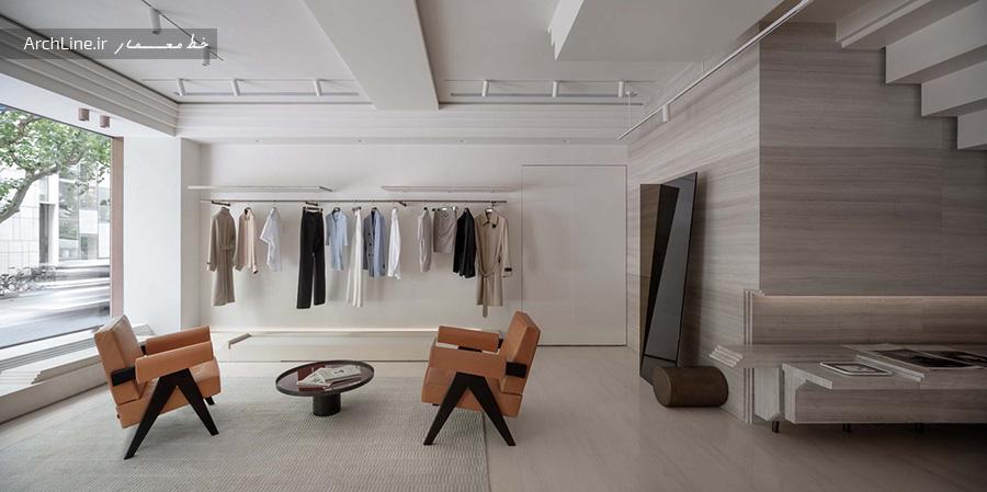 طراحی داخلی مزون لباس زنانه