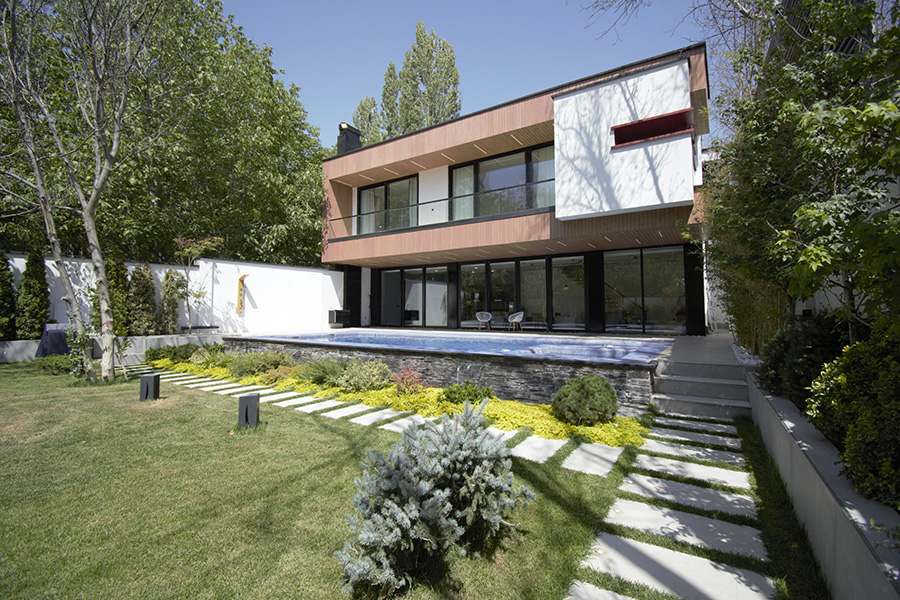 معماری ویلای یار