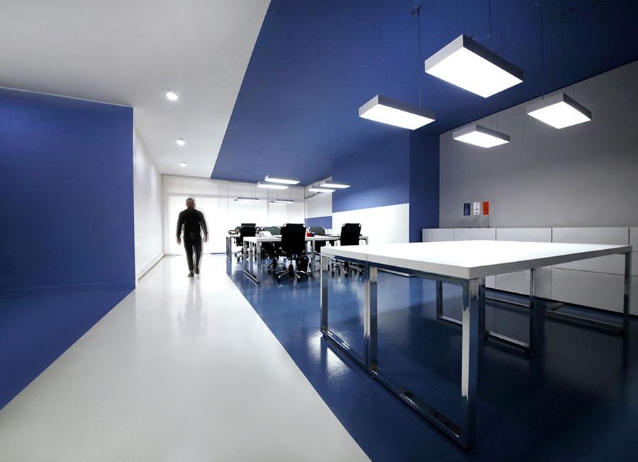 طراحی داخلی شرکت کشتیرانی اسپاد